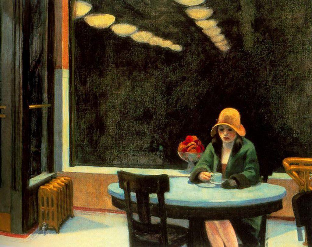 Edward Hopper Automat